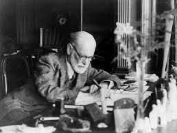 Freud at desk-S